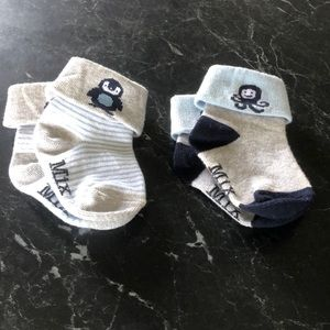baby socks, great condition, never worn, have been cleaned